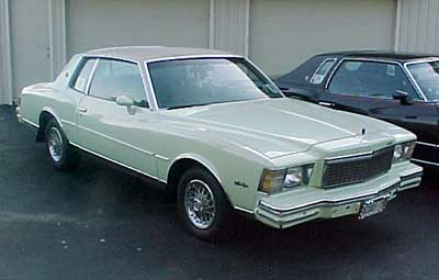 Sweet Pea Light Green Dark Interior White Top Engine 350 V8 LP MCUBS 79 Mc Monte Carlo Manchester College