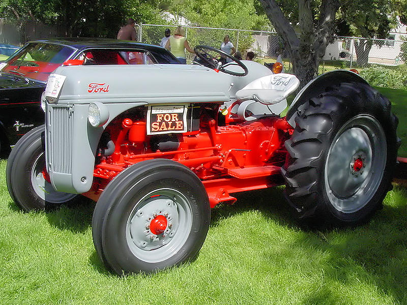 1950 Ford Tractor Tractor Vermilion : Ford tractor