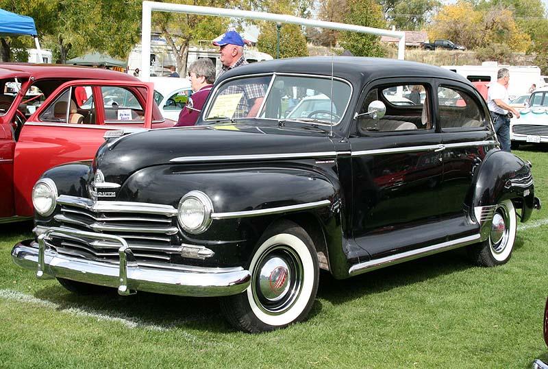 Image gallery 1948 plymouth sedan for 1948 plymouth 4 door sedan