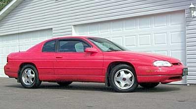 W on 1998 Chevy Lumina